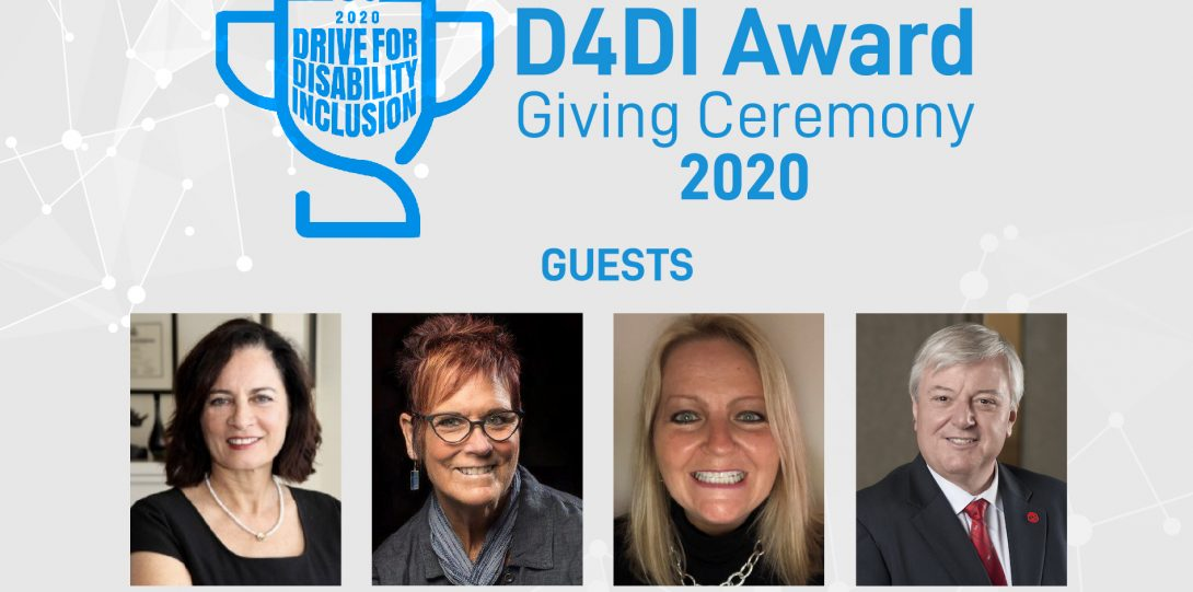 D4DI Award Giving Ceremony Guests Poster 2020